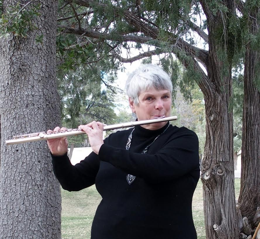 Bette Playing Her Classical Flute